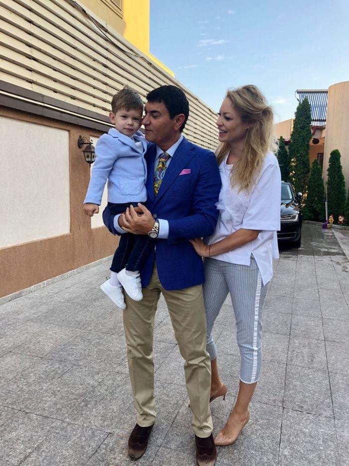 Prima imagine cu Valentina Pelinel însărcinată