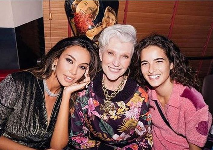 Mădălina Ghenea is a friend of Maye Musk
