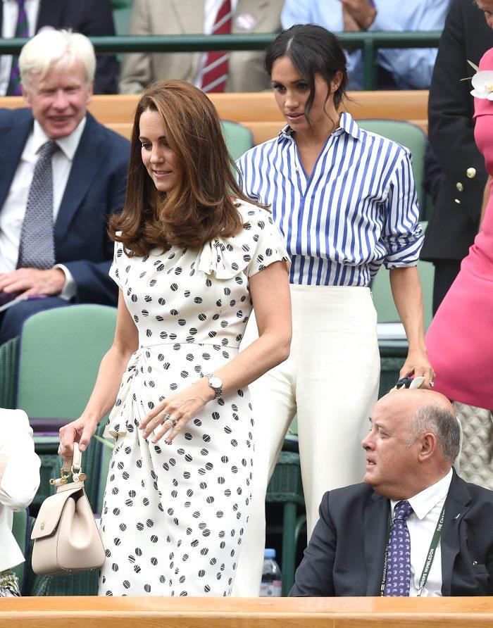 Motivul pentru care Meghan Markle stă în spatele lui Kate Middleton