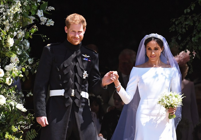 Meghan Markle și Prințul Harry s-au căsătorit pe 9 mai 2018.