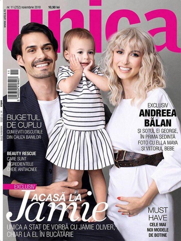Primele imagini cu chipul fetiței Andreei Bălan