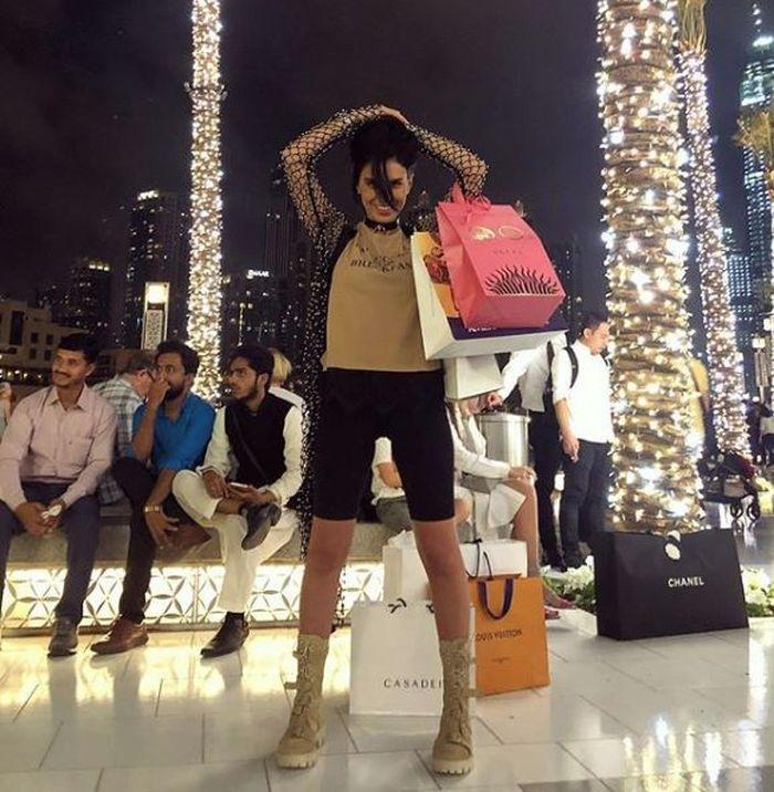 Adelina Pestrițu, în Dubai