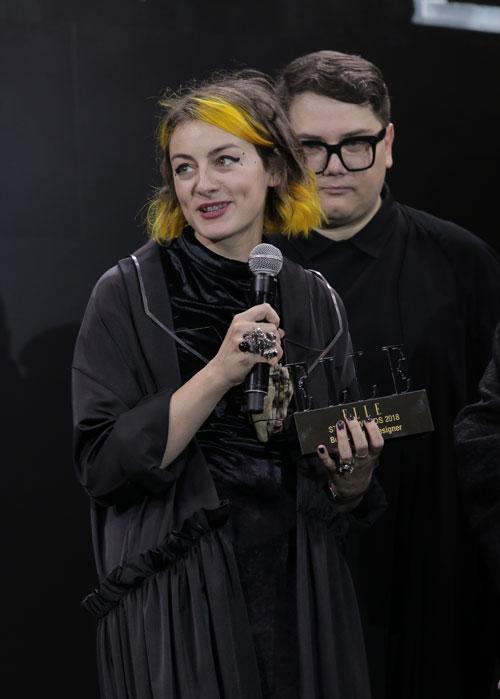 Mona Vulpoiu - Best Jewelry Designer-Elle Style Awards 2018