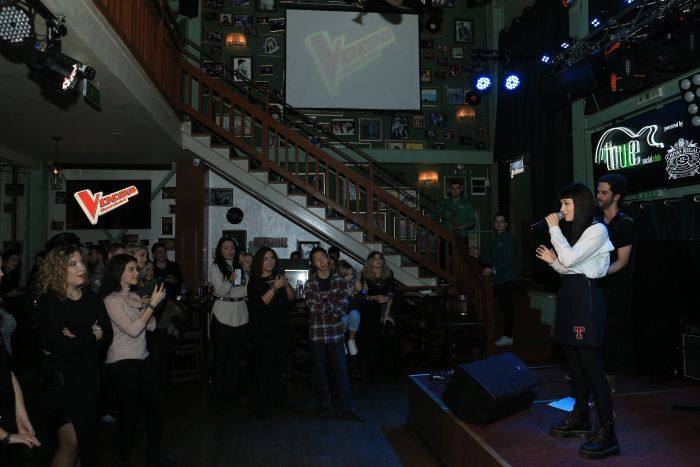 Irina Rimes a urcat pe scenă