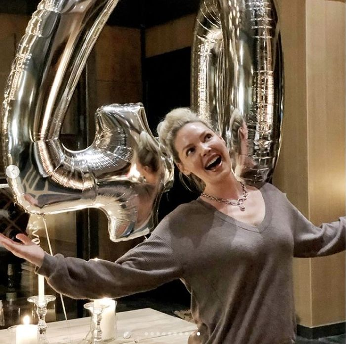 Katherine arată spectaculos la 40 de ani!