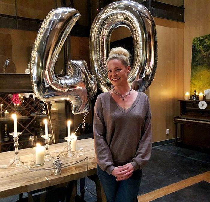 Katherine Heigel a împlinit 40 de ani. Actrița spune că, pentru ea, 40 e doar un număr.