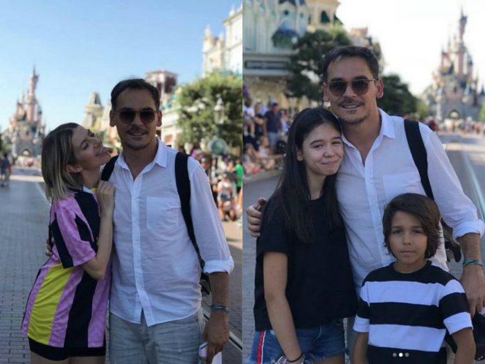 Lidia Buble, Răzvan Simion și copiii acestuia