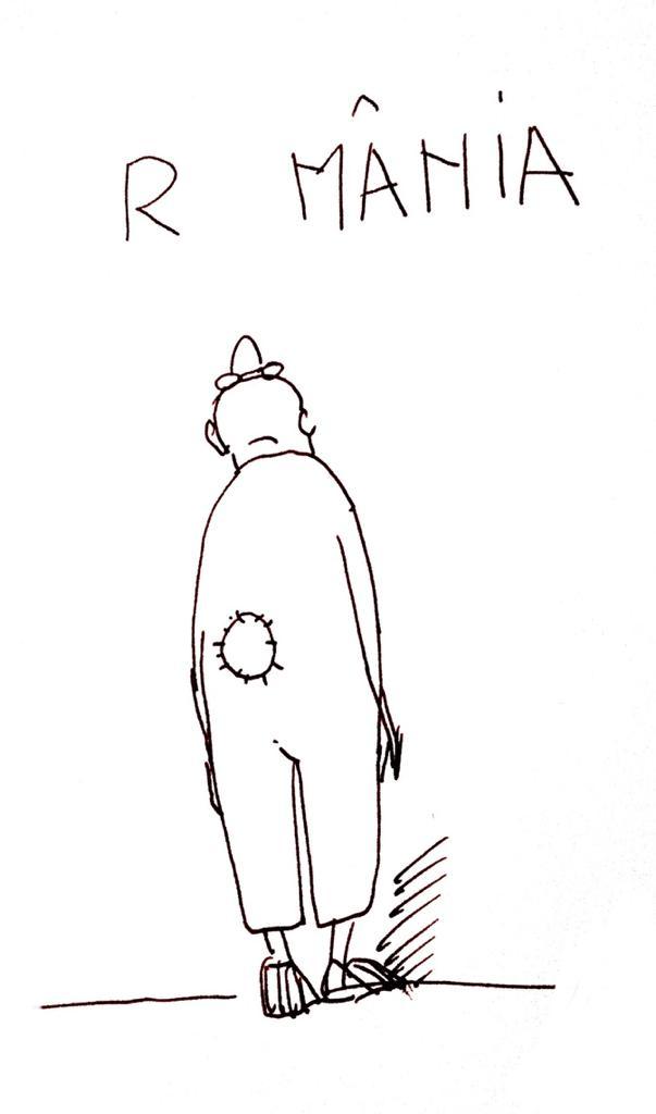 Caricatura României, făcută de Horațiu Mălăele pentru VIVA