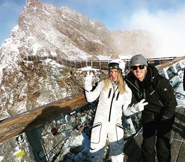Simona Halep în vacanță cu Darren Cahill