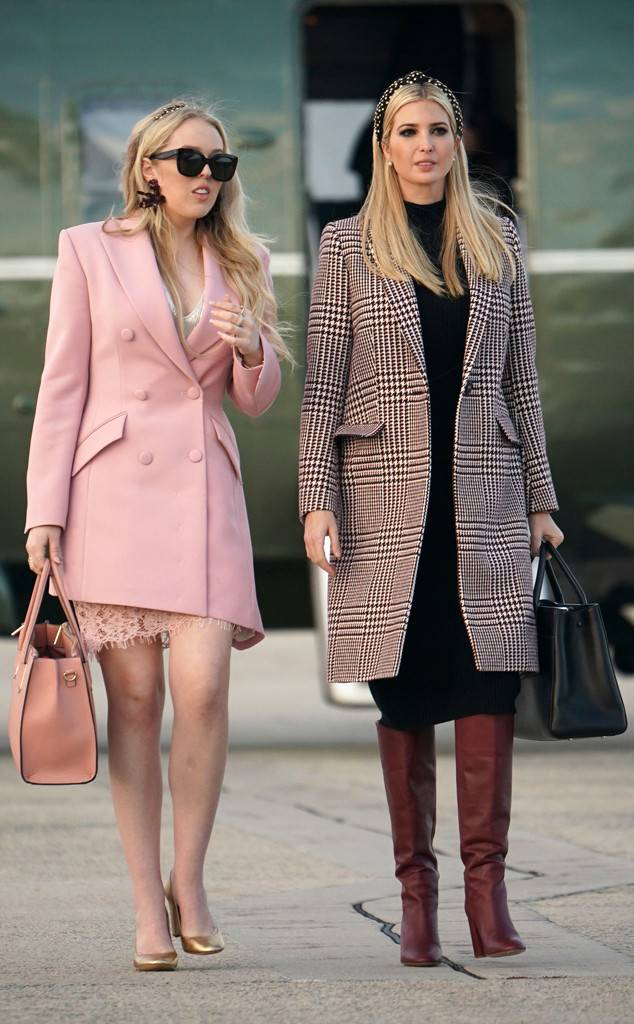Triffany și Ivanka Trump de Thanksgiving