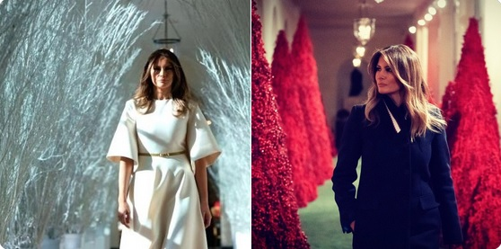Melania Trump chiar pare desprinsă dintr-un film horror!