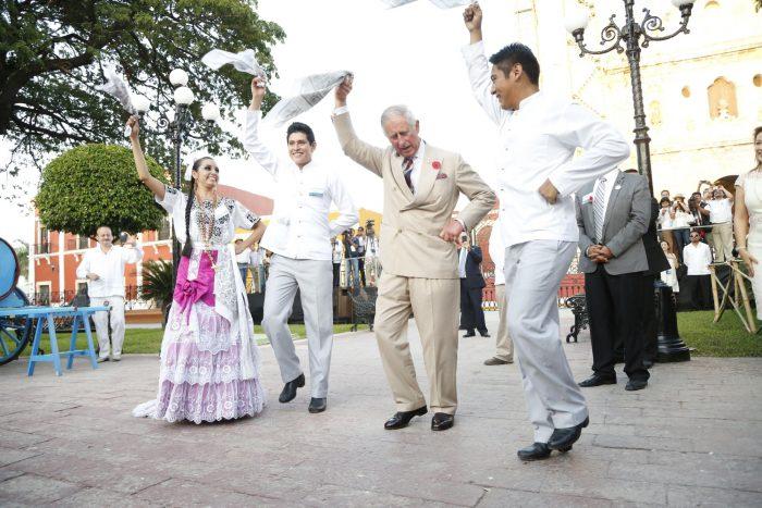 Nici Prințul charles nu este însă mai prejos (Mexic).