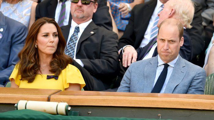 """Kate și William evită contactul """"ochi în ochi""""."""