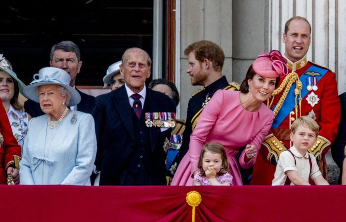 Nici Regina nu a scăpat de poreclă... Prințul George îi spune Gan-Gan!
