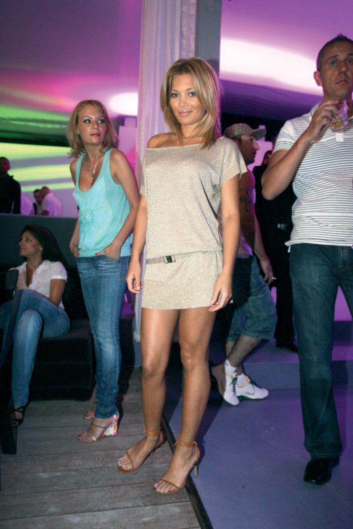 Gina Pistol, aici la un eveniment monden în anul 2007