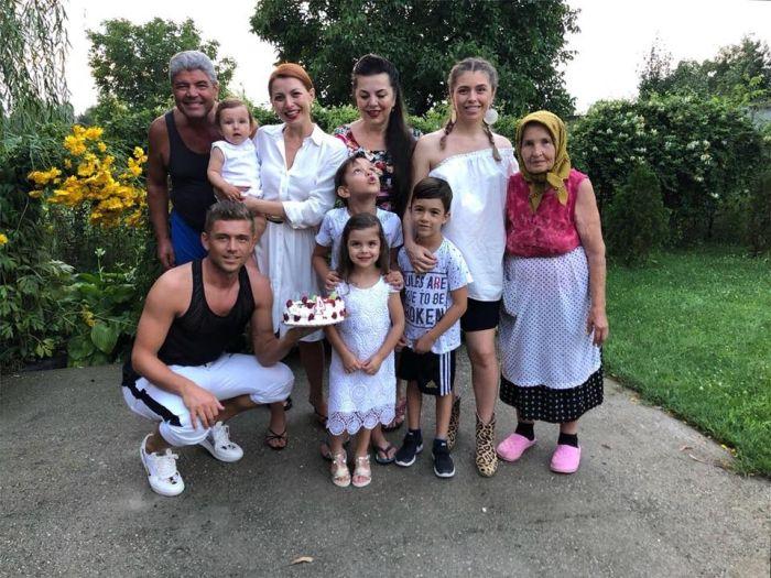 Familia lui Costin Gheorghe