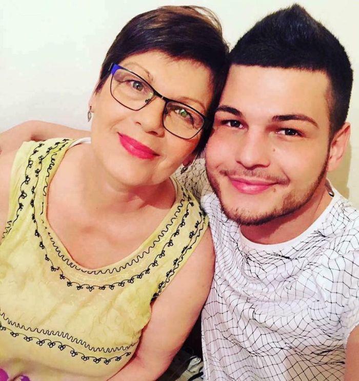 Răzvan Botezatu și mama lui