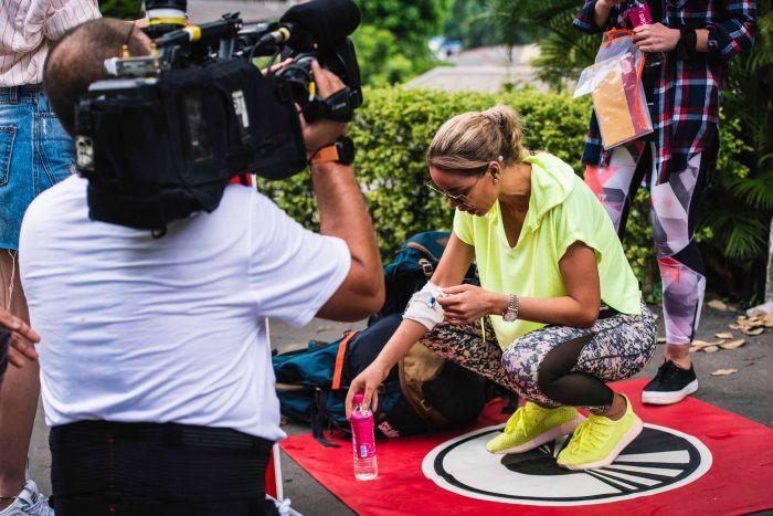 Bianca Drăgușanu a ajuns pe perfuzii la Asia Express