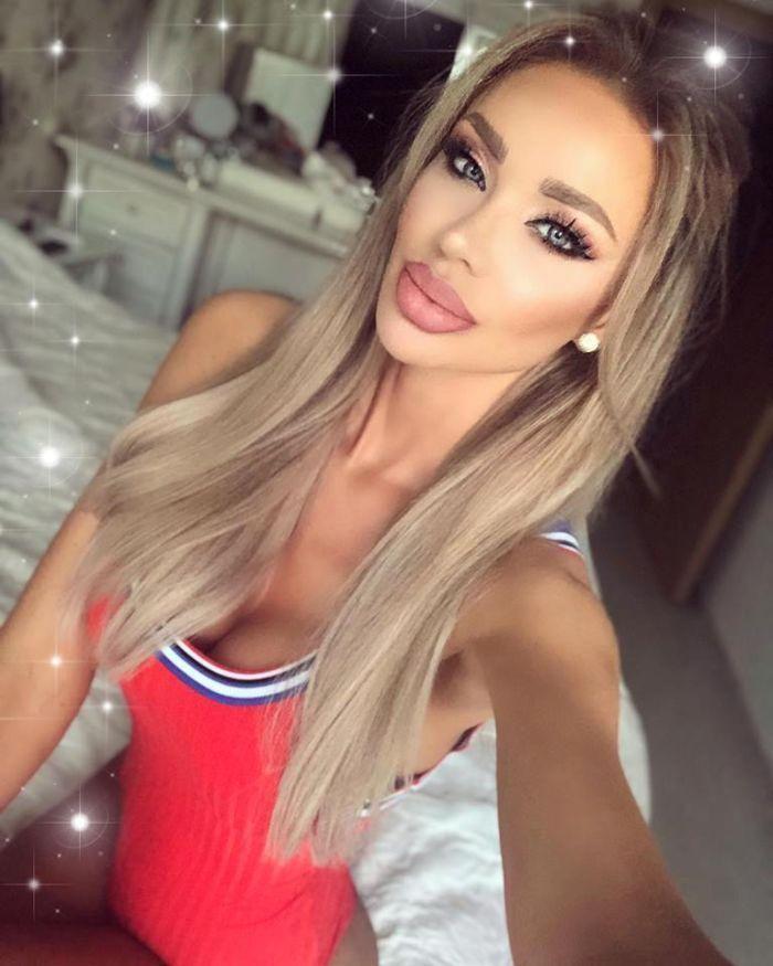 Cum arăta Bianca Drăguşanu înainte de operaţiile estetice