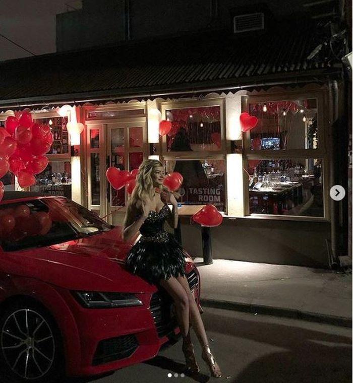 Ioana Boureanu a primit un bolid de lux