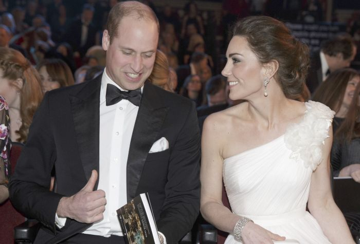 Ducii de Cambridge Kate Middleton și Prințul William la BAFTA