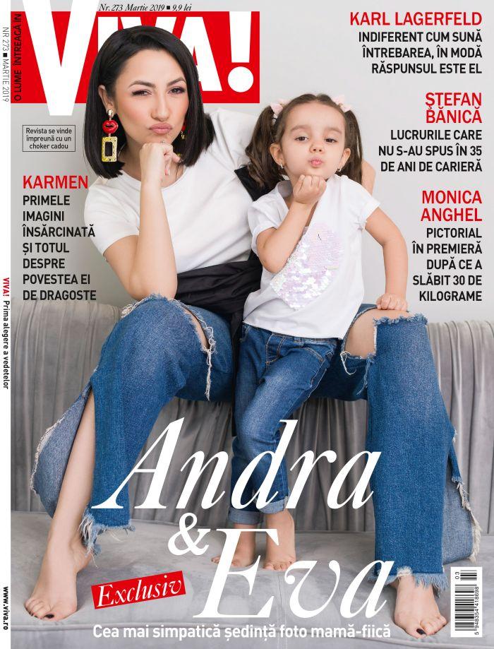 Materialul integral poate fi citit în numărul de martie al revistei VIVA, care se găsește deja pe piață.