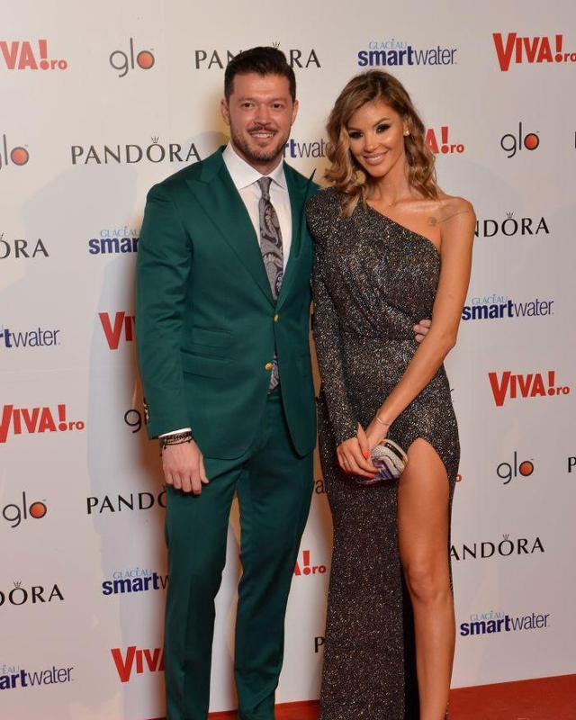 Ramona Olaru și Victor Slav, la VIVA! Party 2019.