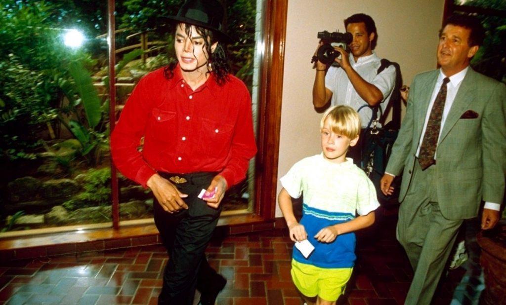 Macaualay Culkin şi Michael Jackson