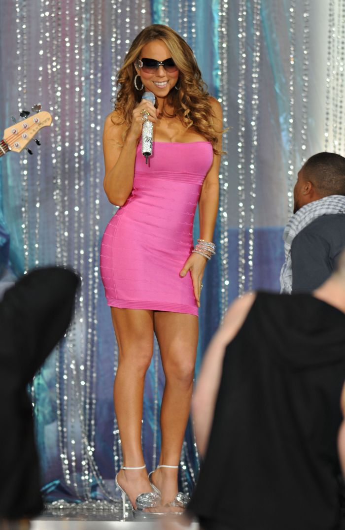 Mariah Carey, în 2008.