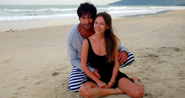 Adela Popescu l-a vizitat pe Radu Vâlcan în Thailanda, când filma pentru Insula Iubirii