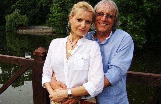Mihai Constantinescu si sotia lui, Simona Secrier