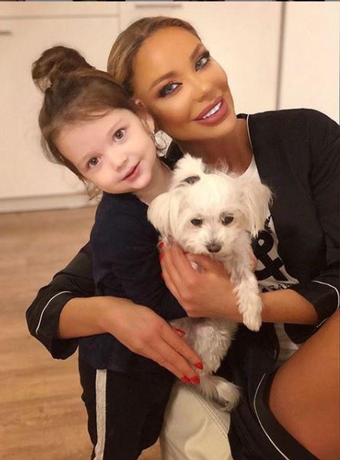 Bianca Drăgușanu și fiica ei, Sofia Natalia