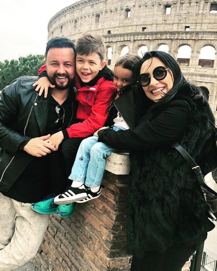 Cătălin Măruță și familia