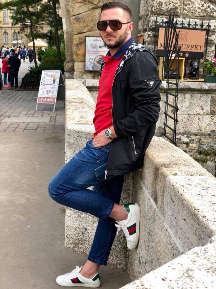 Adrian, fostul iubit al Paulei Chirilă