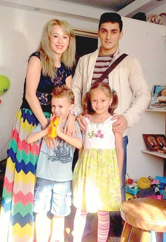 Marian Dragulescu si Corina au doi copii