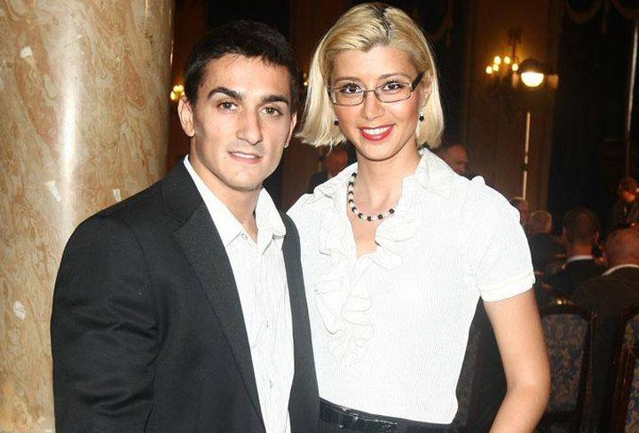 Marian Dragulescu si Corina