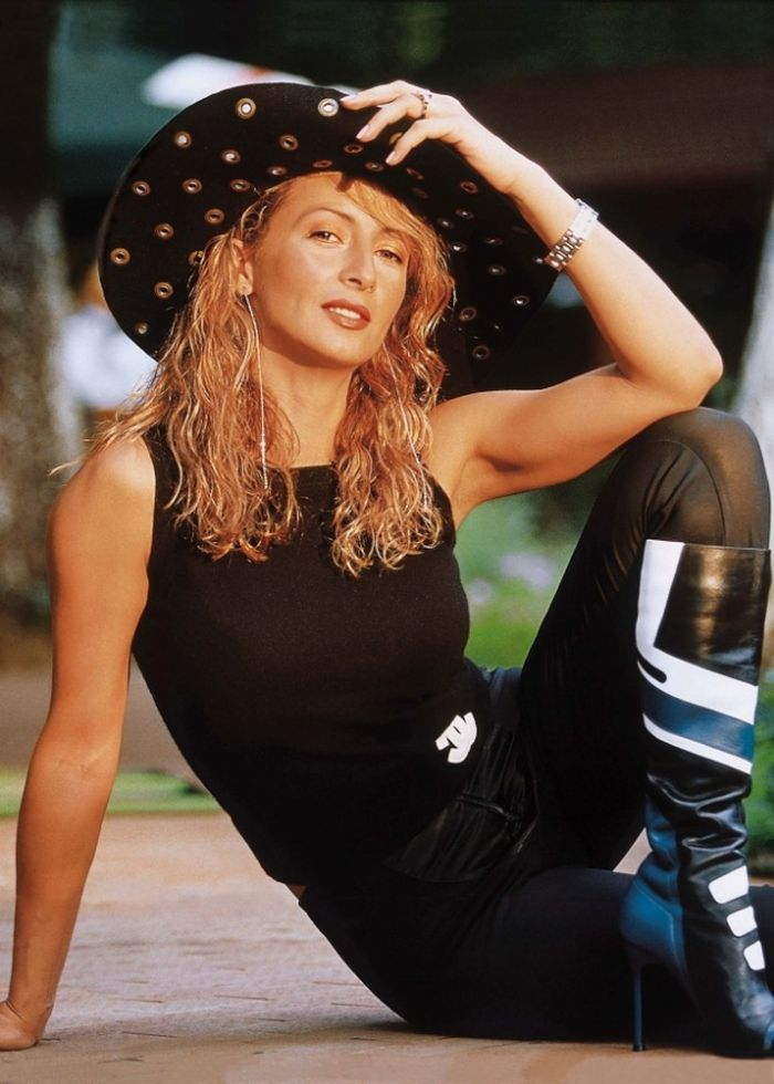 Mihaela Rădulescu când era blondă