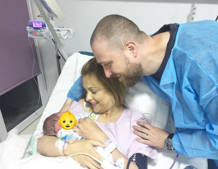Simona Gherghe, peripeții imediat după ce a născut băiețelul