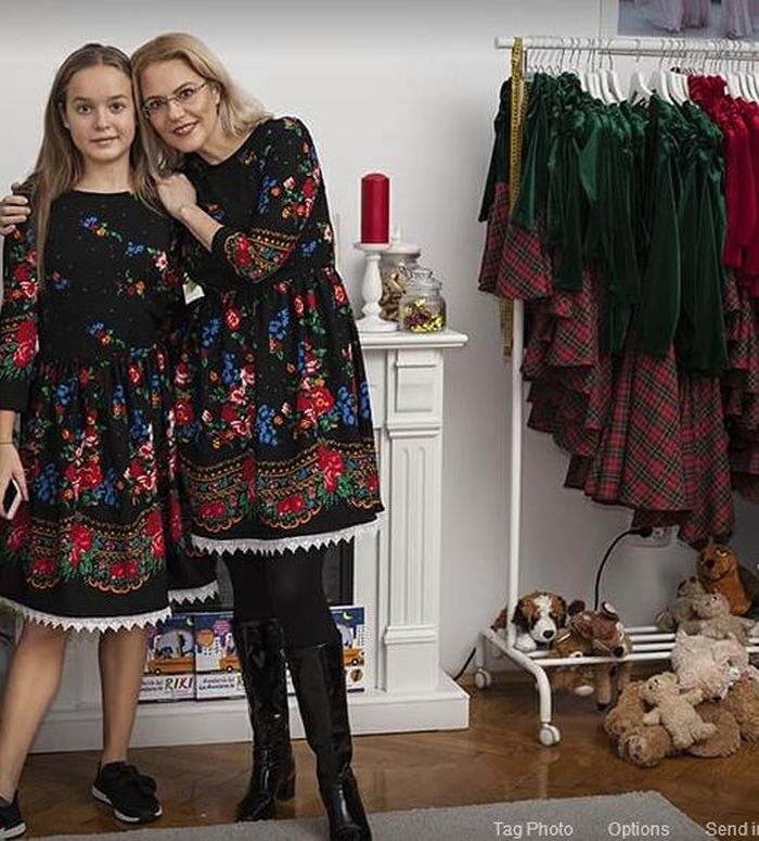 Raluca Moianu și fiica sa, Mara