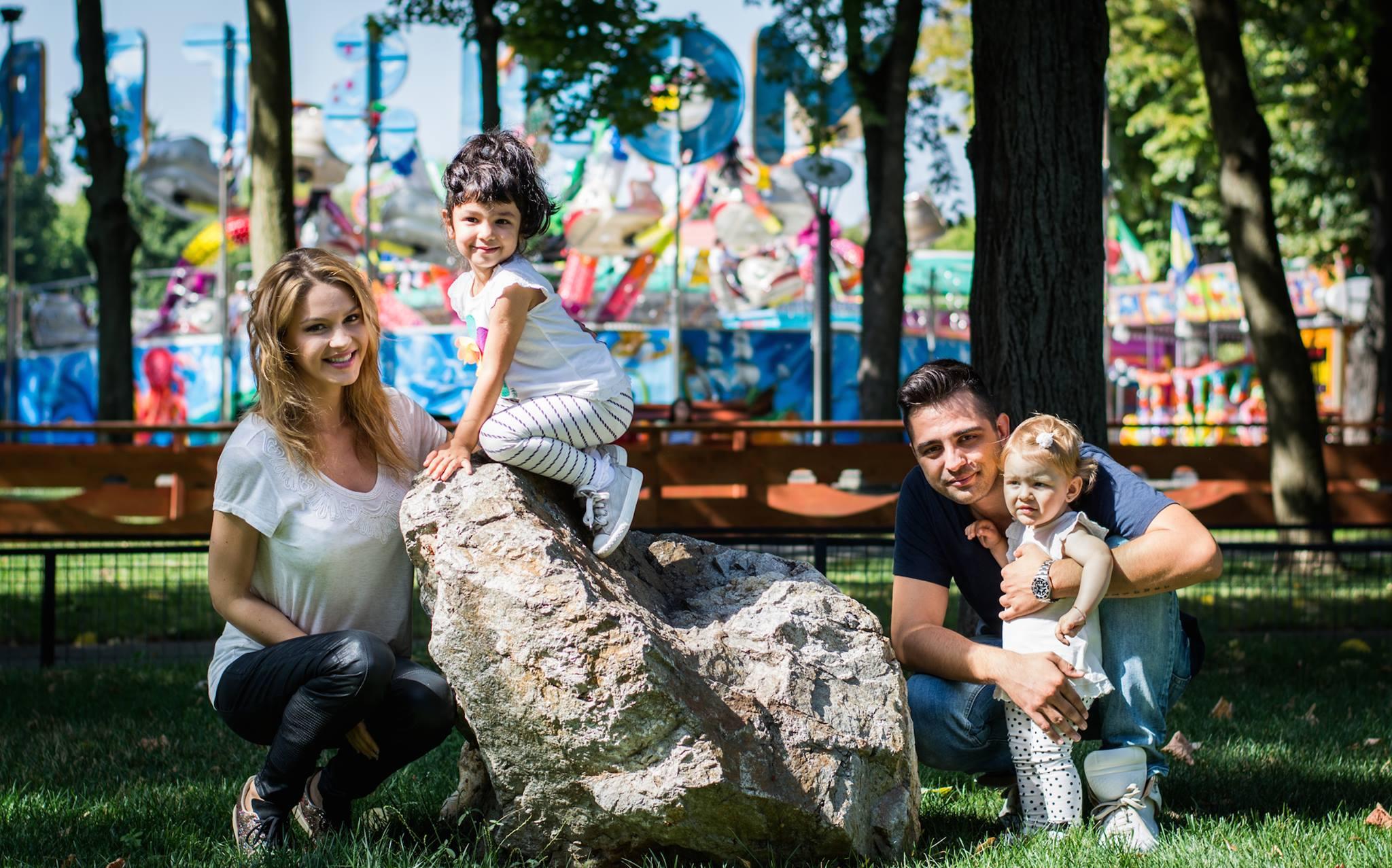 Mihai Gruia, ex Akcent si Laura au împreună 2 fetiţe