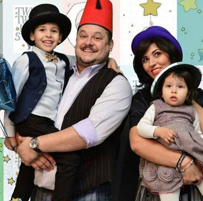 Mihai Bobonete și familia