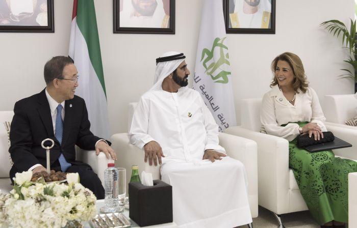 Prințesa Haya, alături de soțul ei, șeicul Mohammed bin Rashid al-Maktoum