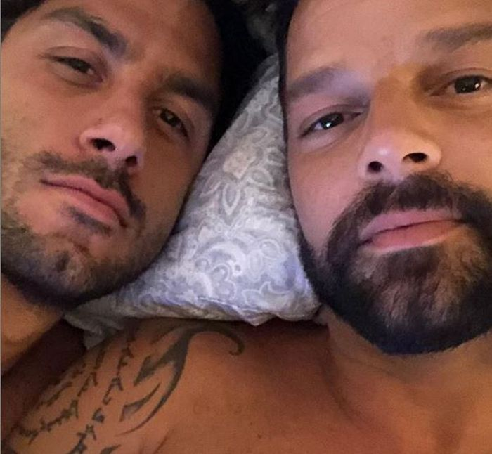 Ricky Martin și soțul lui