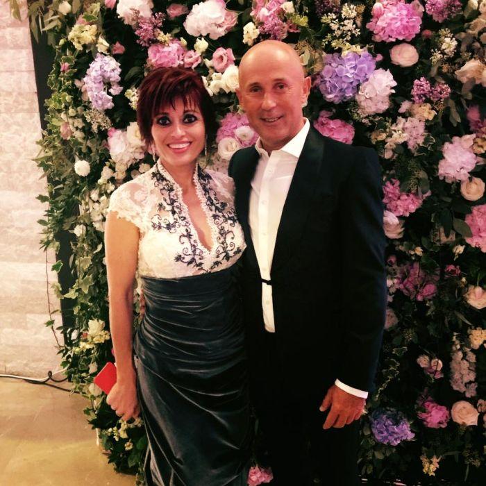 Mugur Mihaescu și soția lui, Rodica