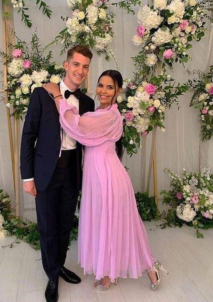 Andreea Popescu și soțul ei