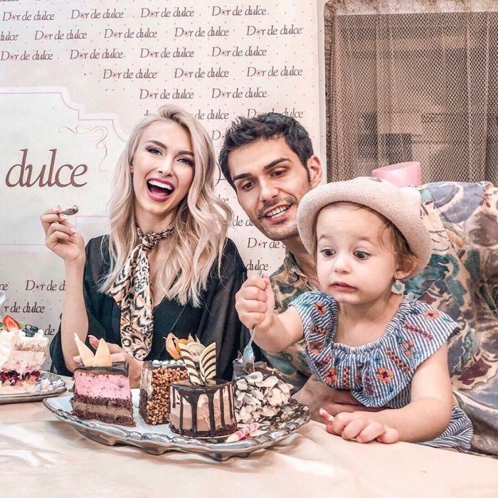 Andreea Bălan și familia