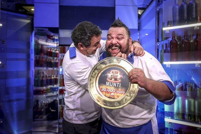 Decizia neașteptată luată de Chef Munti, multimul câștigător
