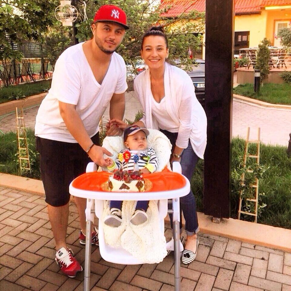 Claudia Pătrăşcanu şi Gabi Bădălău au 2 băieţi