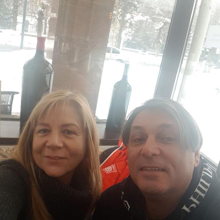 Cornel Galeș și Vivi, noua iubită