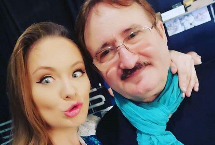 Cornel Palade și fiica lui, Ada